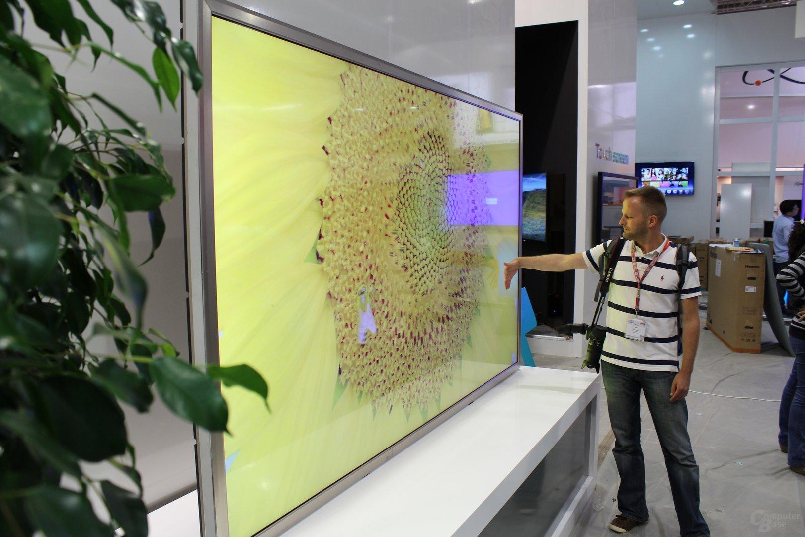 Ultra-HD-Fernseher mit 110 Zoll von Hisense zur IFA