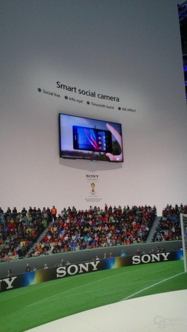 Sony Xperia Z1 – Kamera (Front)