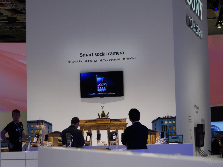 Sony Xperia Z1 – QX100 (voller Zoom)