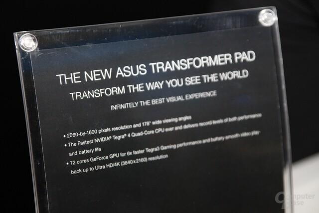 Asus New Transformer Pad