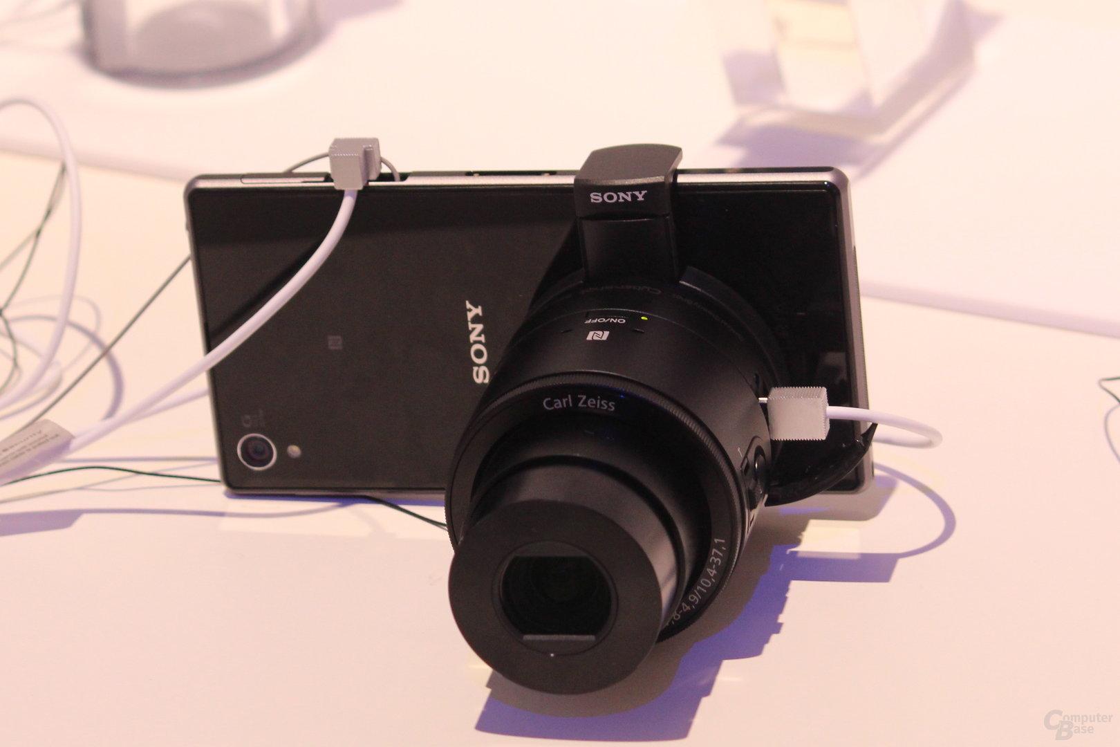 Sony Xperia Z mit QX100