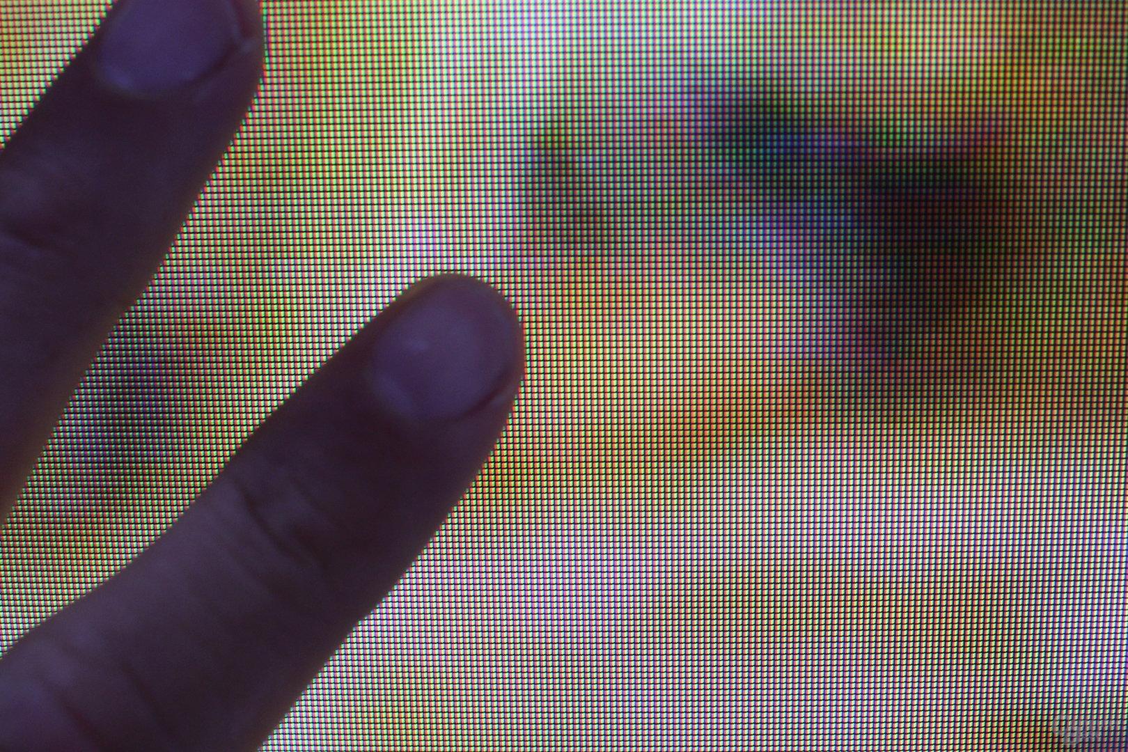Samsung UHD-Fernseher mit 110 Zoll - Pixeldichte