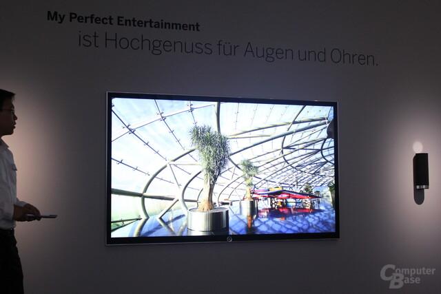 Lowe UHD-TV mit 84 Zoll
