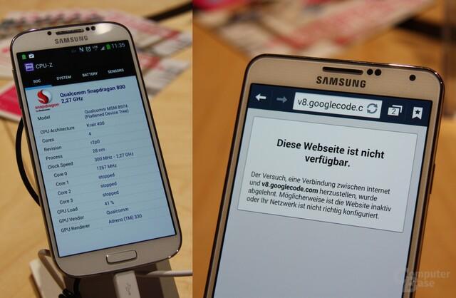 Galaxy S4 LTE-A / Galaxy Note 3