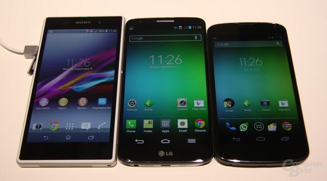 Xperia Z1 / G2 / Nexus 4