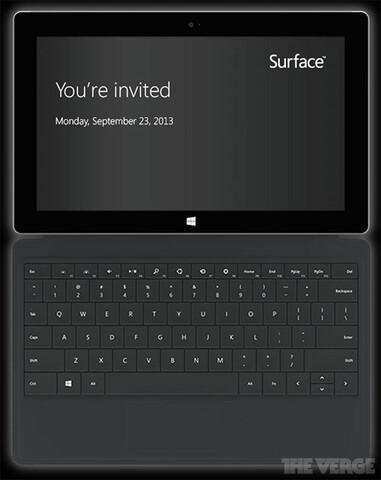 Microsoft lädt zum 23. September ein