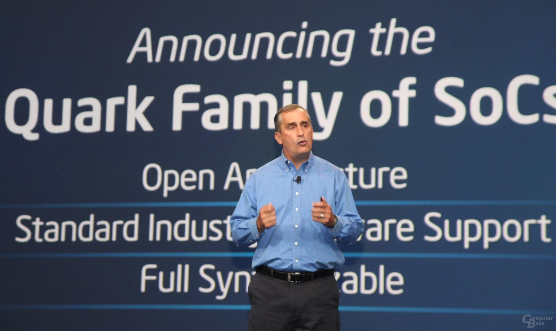 """Intel kündigt """"Quark""""-Prozessor-Familie an"""