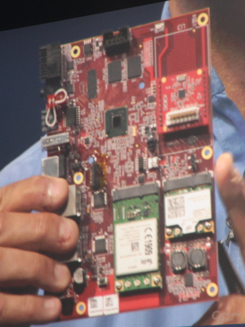 "Referenzboard der ""Quark""-Prozessor-Familie"