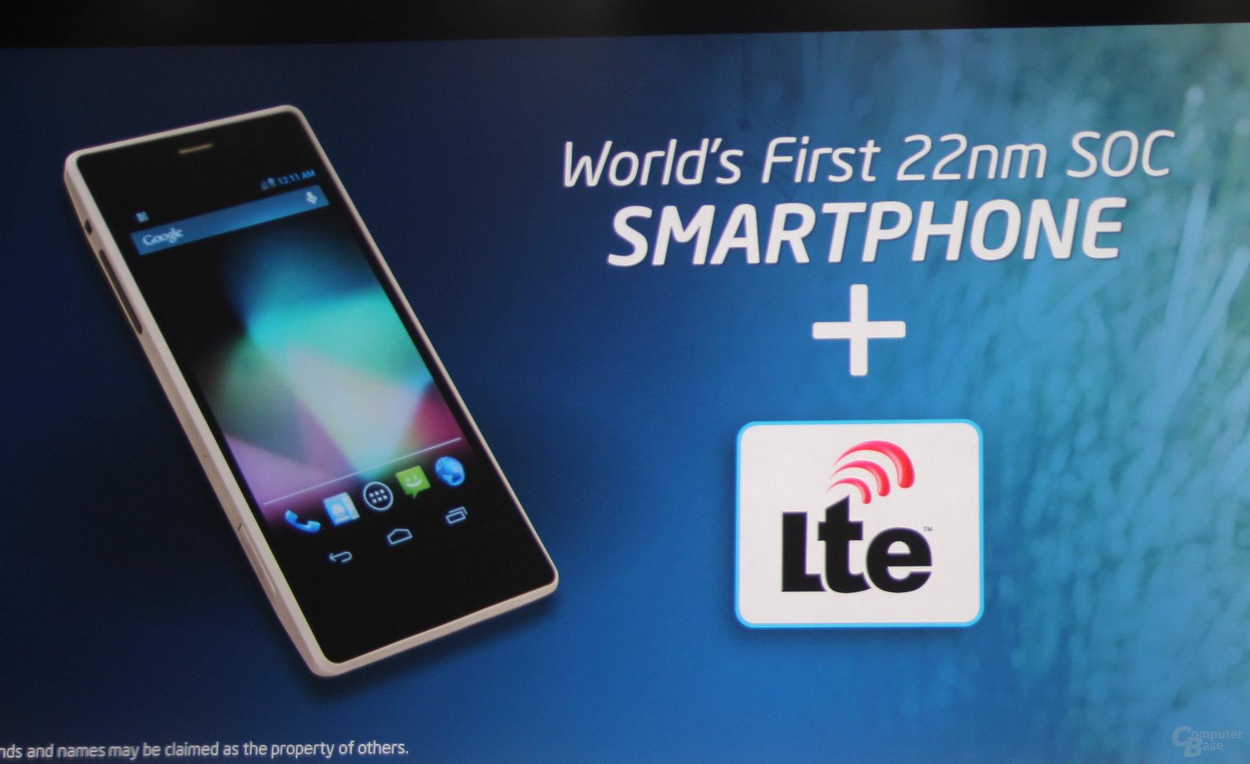 "Intel ""Merrifield""-Smartphone"