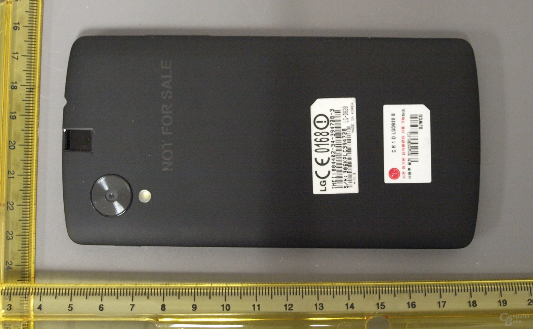 Google Nexus 5 bei der FCC?