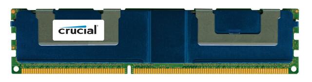 DDR3-LRDIMM mit 64 GB von Crucial