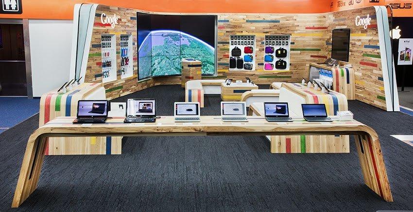 "Googles erster deutscher ""Shop-in-Shop"""