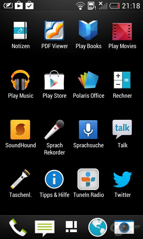 Sense 5.0 auf dem HTC Desire 500