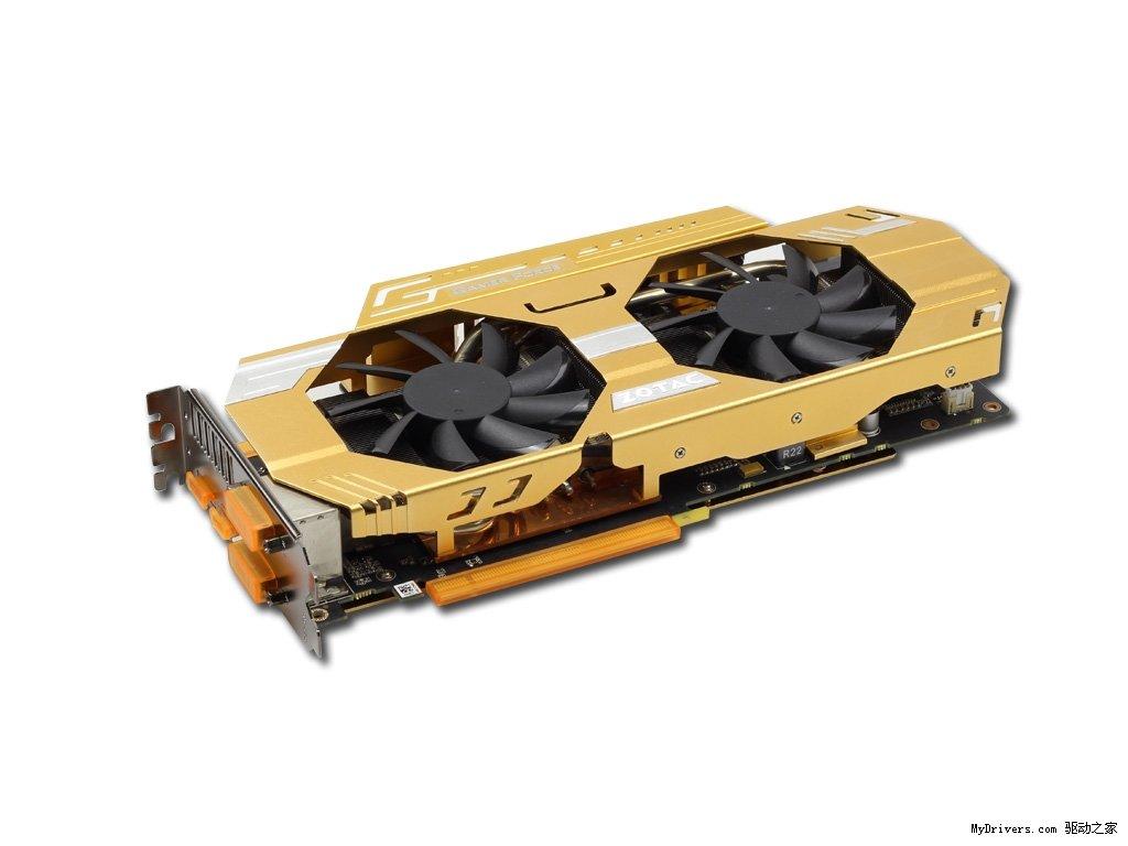 Zotac GeForce GTX 760 Extreme Edition in Gold