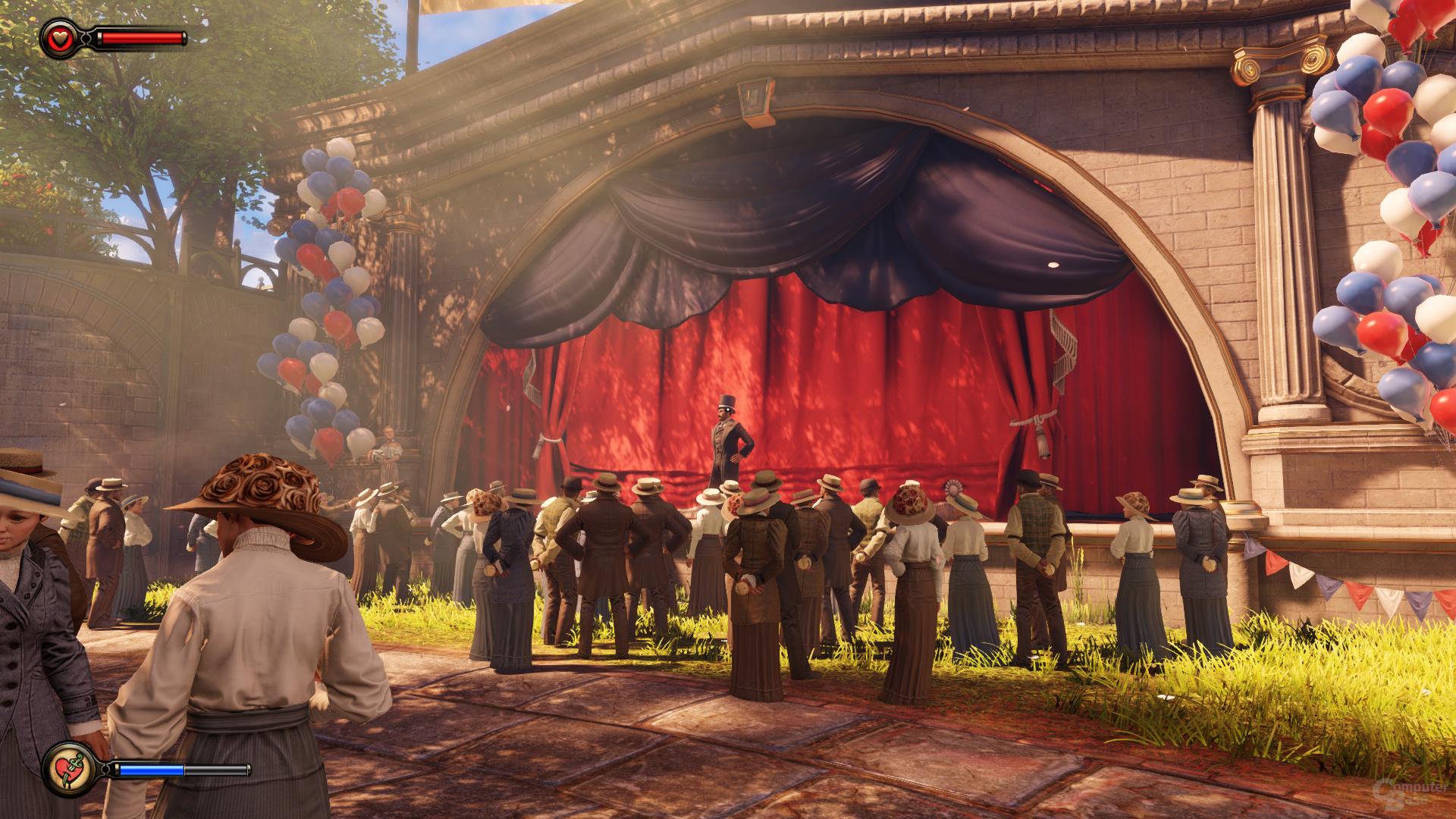 Bioshock Infinite, reduzierte Details, DX11 (2)