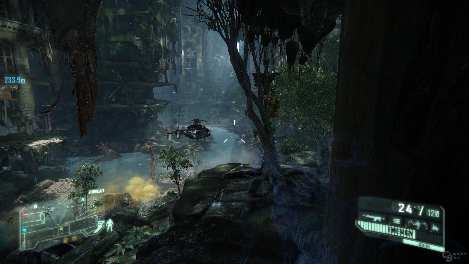 Crysis 3, reduzierte Details, DX11