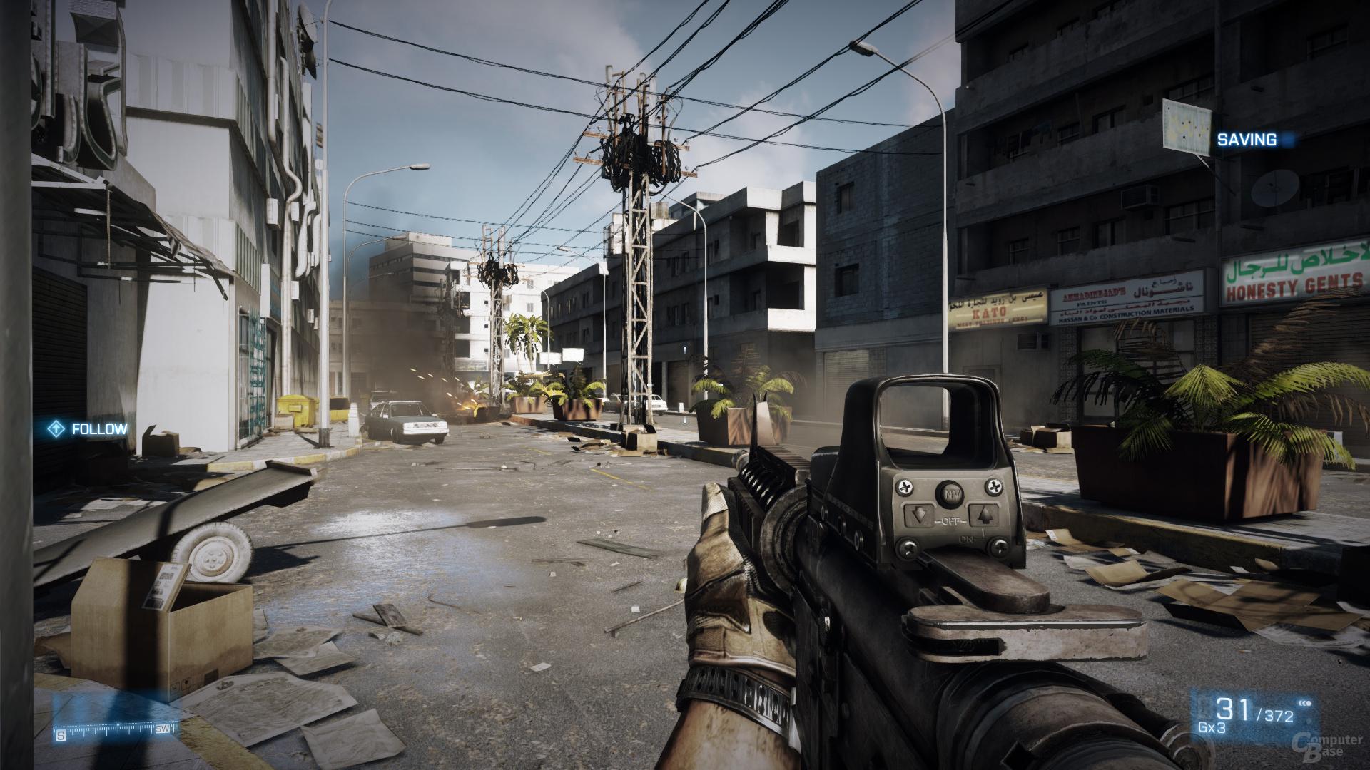 Battlefield 3, maximale Details, DX11