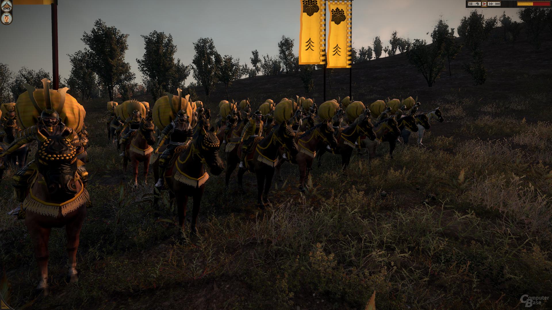 Total War: Shogun 2, maximale Details, DX11