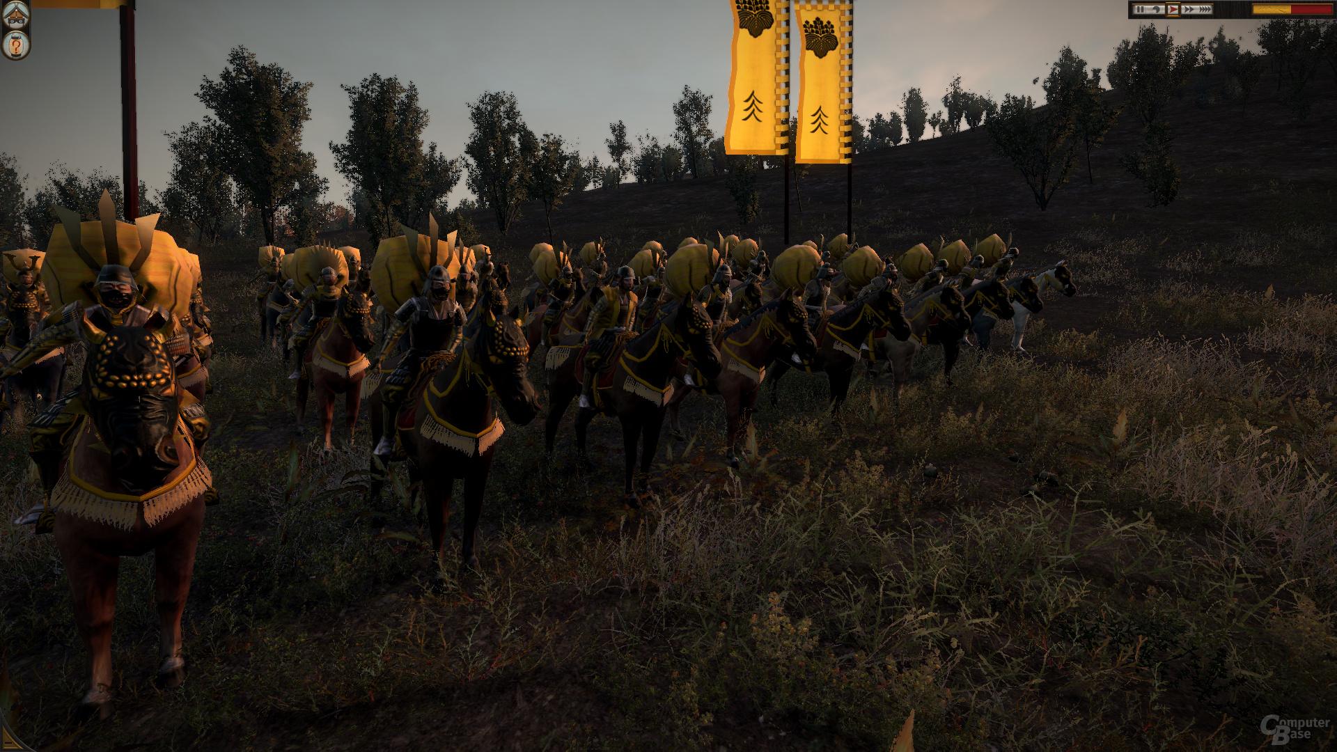 Total War: Shogun 2, reduzierte Details, DX11