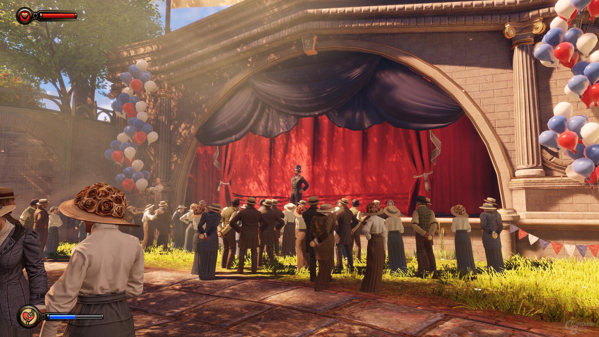 Bioshock Infinite, reduzierte Details, DX10 (2)