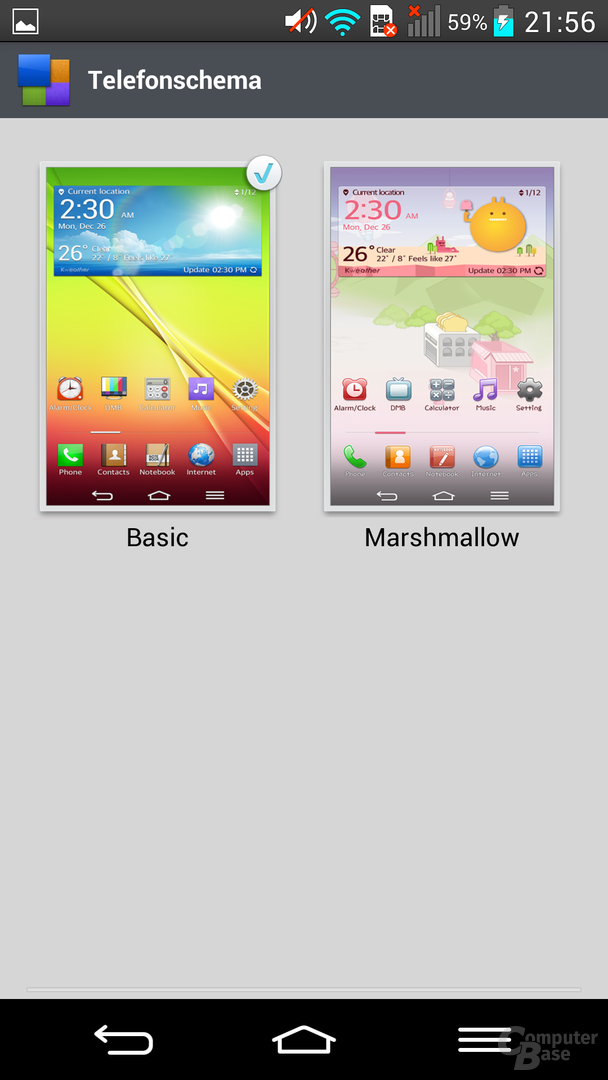 LG G2 – Themes