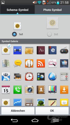 LG G2 – Icons anpassen