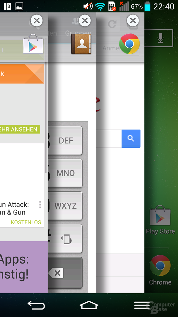 LG G2 – Apps zwischenspeichern