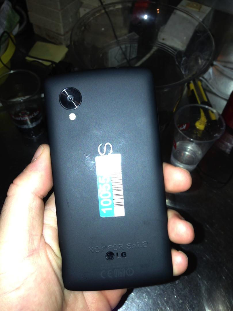 Prototyp des Nexus 5