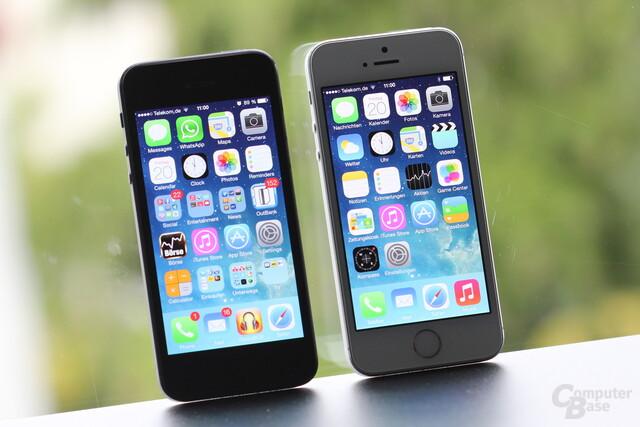 iPhone 5 und iPhone 5S