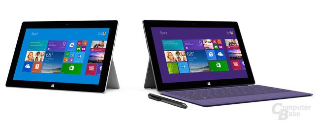 Microsoft Surface 2 & Surface Pro 2