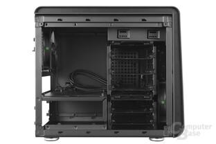 BitFenix Phenom Mini-ITX – Innenraumansicht