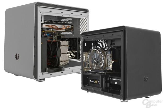 BitFenix Phenom Mini-ITX und mATX – Zwei verschieden gleiche Brüder
