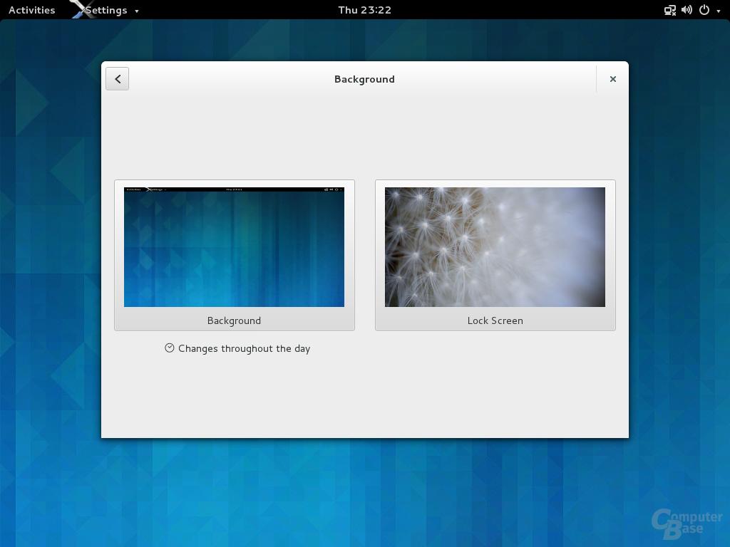 Screensaver mit eigenem Hintergrund