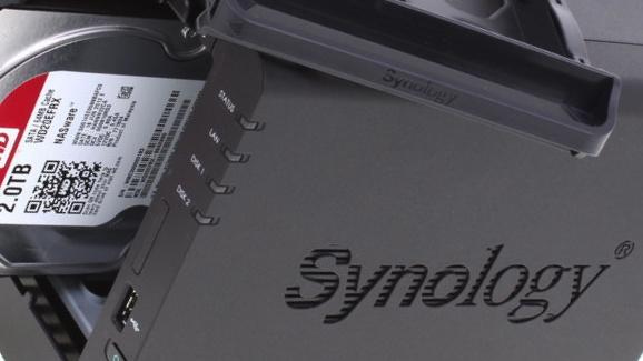 Synology DiskStation DS214 im Test: Sehr schnell und schraubenlos