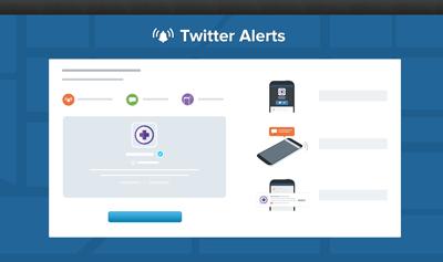 Funktionsweise Twitter-Benachrichtigung für Umweltkatastrophen