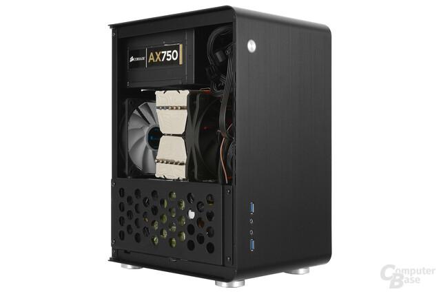 Cooltek U3 - Testsystem seitlich