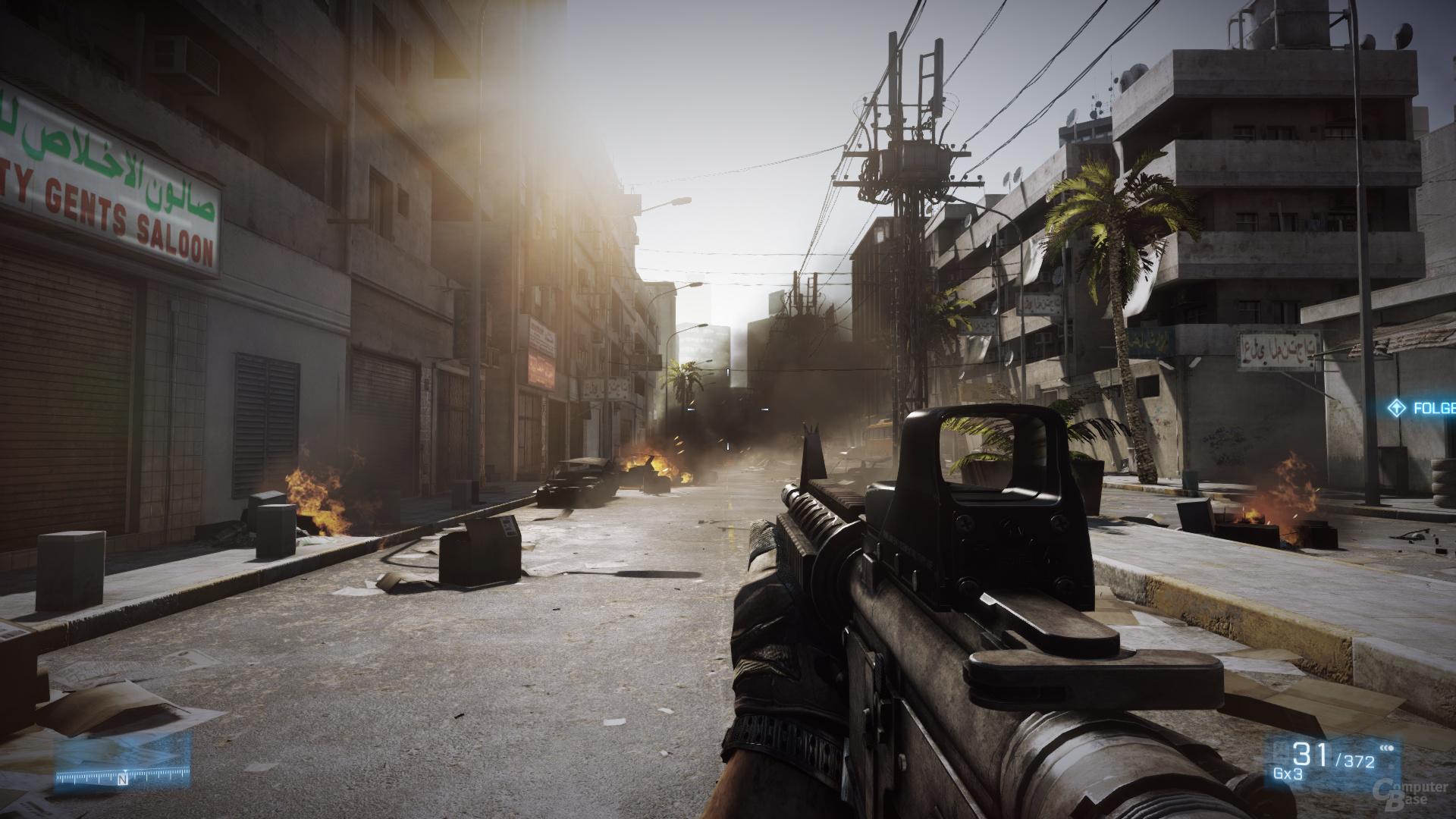 AMD Southern Island - Battlefield 3