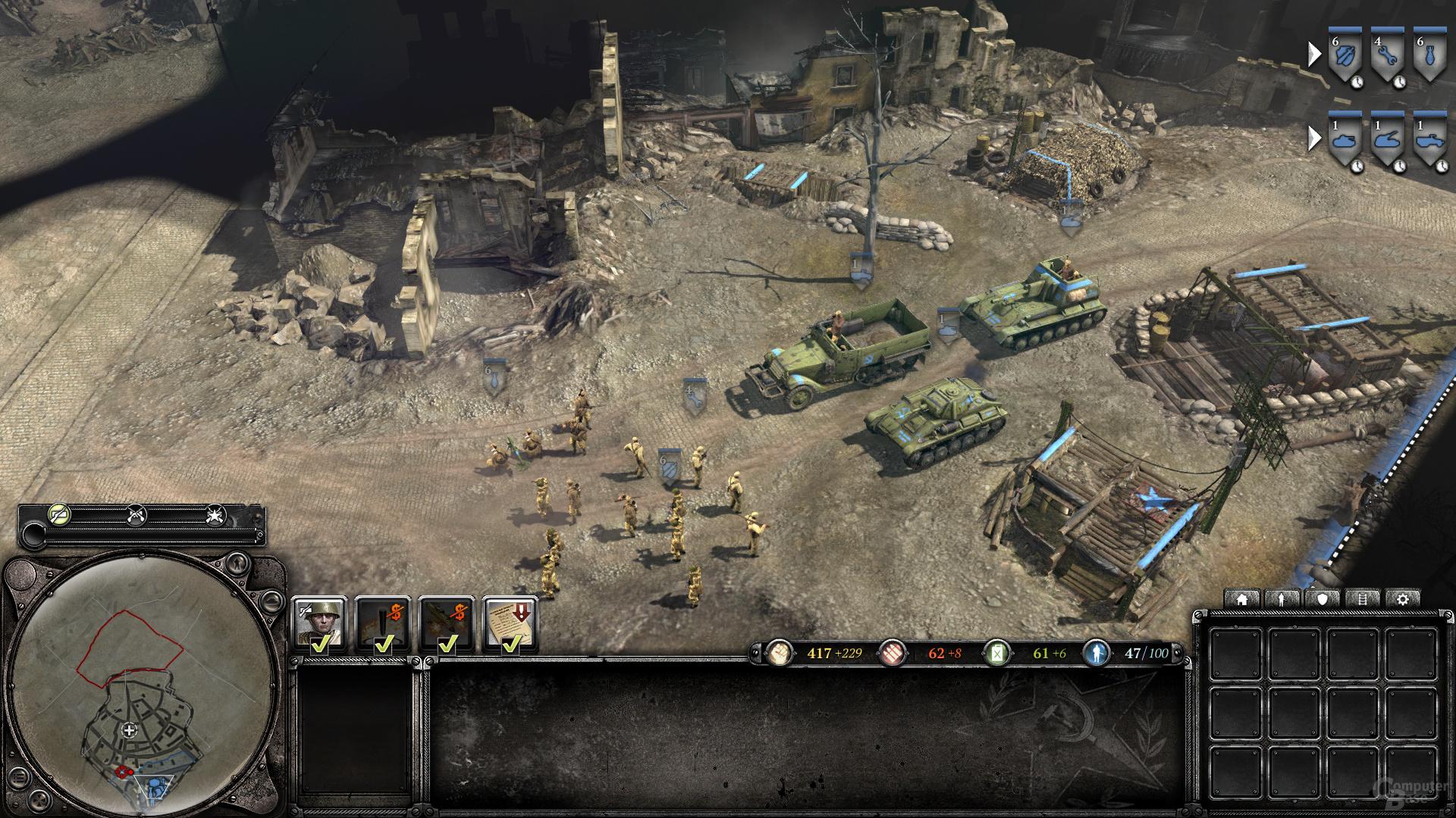 AMD Southern Island - Company of Heroes 2