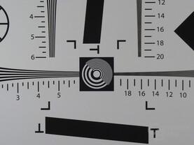 Sony Cybershot DSC-HX50 – 100-%-Ansicht der Mitte