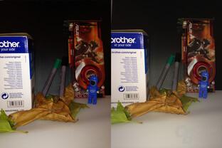 Bild mit Blitz: iPhone 5C (links) und iPhone 5S