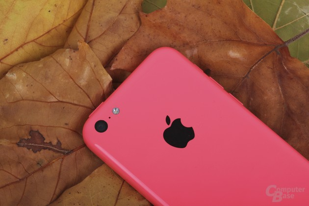 Das iPhone 5C in Pink