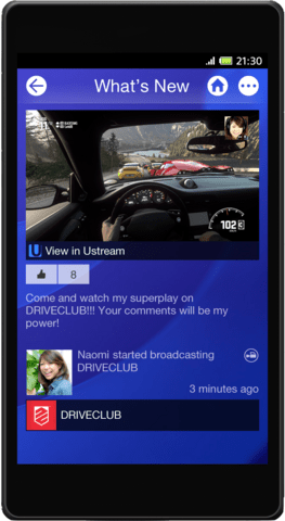 Neue PlayStation App