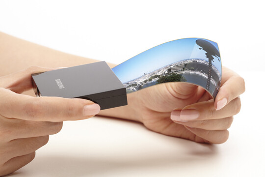 Flexibles OLED-Display