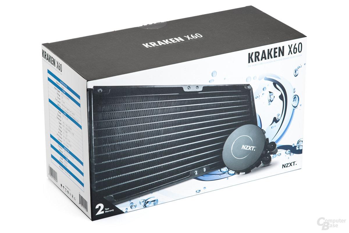 NZXT Kraken X60 mit 2 x 140 mm Radiator