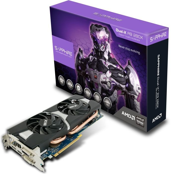 Sapphire Radeon R9 280X Dual-X