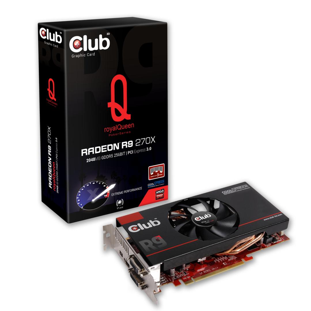Club 3D Radeon R9 270X royalQueen
