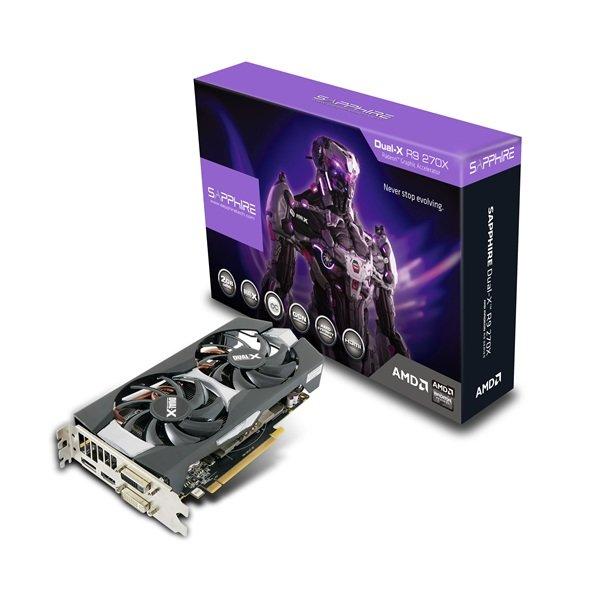 Sapphire Radeon R9 270X Dual-X OC