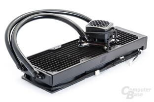 Swiftech H2O H320 mit Triple-Radiator und leistungsstarker Kompaktpumpe