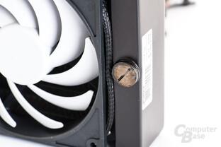 G1/4-Zugang zum Befüllen des Kühlkreislaufes