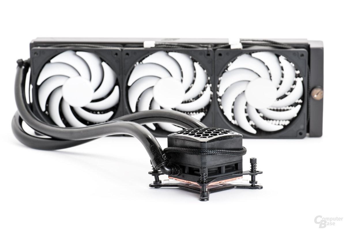 All-in-one-Lösung von Swiftech: H320 mit Triple-Radiator